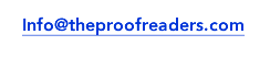 The Proofreaders accepts PayPal as online payments for proofreading and editing services.