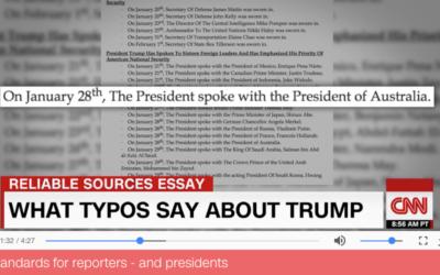 Presidential Typos
