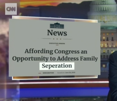 White House Misspells Separation on Executive Order